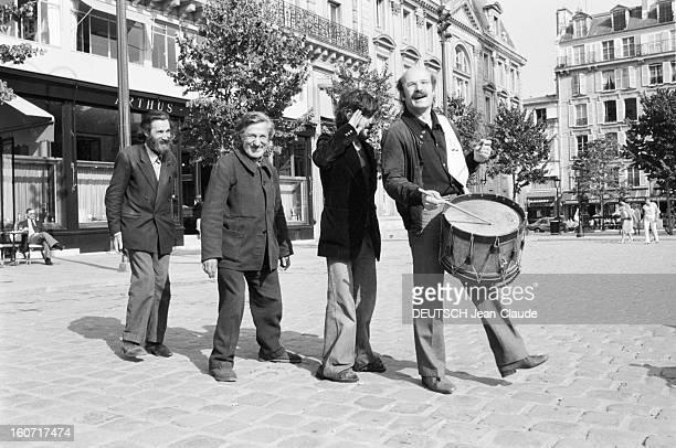 Volker Schlöndorff German Film Director Paris 14 septembre 1979 A l'occasion de le sortie de son film 'Le Tambour' portrait en extérieur du...