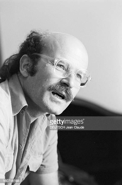 Volker Schlöndorff German Film Director Paris 14 septembre 1979 A l'occasion de le sortie de son film 'Le Tambour' portrait en intérieur du...