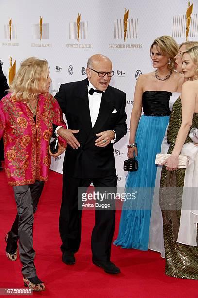 Volker Schloendorff and his wife Angelika Schloendorff attend the Lola German Film Award 2013 at Friedrichstadtpalast at FriedrichstadtPalast on...
