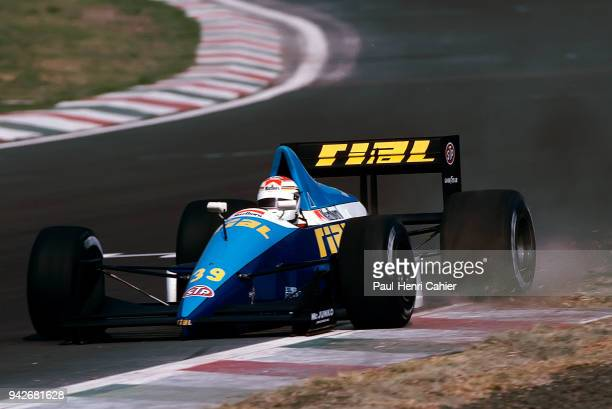 Volker Weidler RialFord ARC2 Grand Prix of Hungary Hungaroring 13 August 1989 Mark Webber made his Formula One debut at his home race in the 2002...