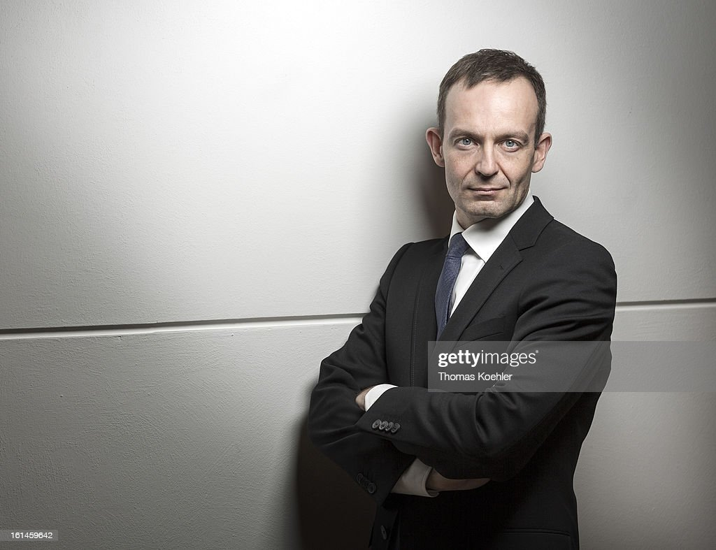 Volker Wissing, member of German Free Democrats political party (FDP), poses for a phototgraph on January 29, 2013 in Berlin, Germany.