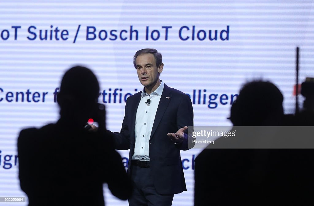 Key Speakers At Robert Bosch GmbH Internet of Things Conference : News Photo