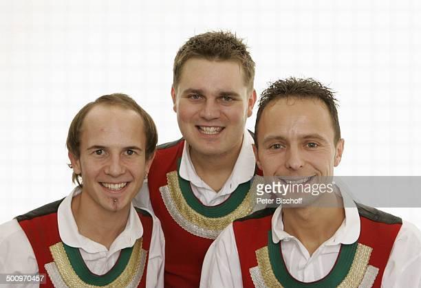 'Die Jungen Zillertaler' Daniel Prantl Michael Ringler Markus Unterladstätter Konzert 'Alpenländische W e i h n a c h t' Köln Sänger Volksmusik...