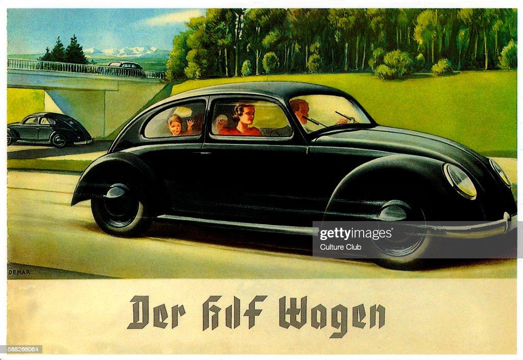 Volkswagen Advertisement : News Photo