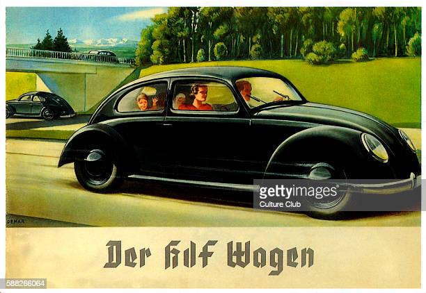 Der kdf Wagen/ The kdf Car Kdf stands for Kraft durch Freude Name for large statecontrolled leisure organization in Nazi Germany Prototype model...