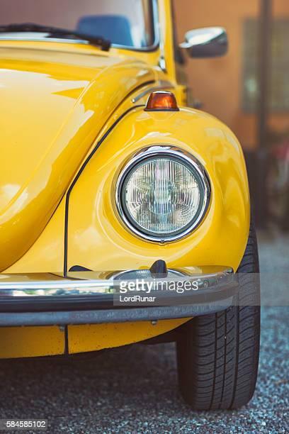 Volkswagen Beetle front view
