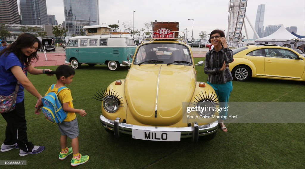Volkswagen Beetle On Show At The Hong Kong Classic 2015 Classic Cars