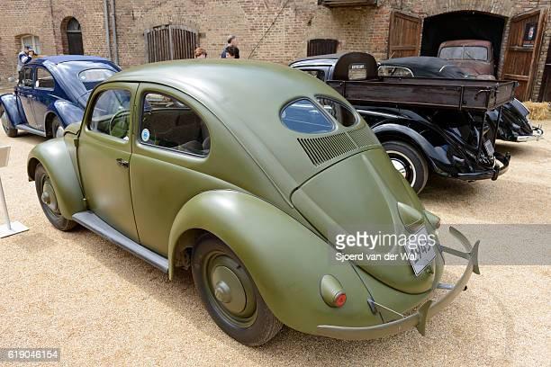 "volkswagen beetle or vw bug army vehicle - ""sjoerd van der wal"" stock pictures, royalty-free photos & images"