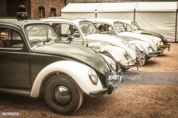 volkswagen beetle or vw bug collection - coleottero foto e immagini stock