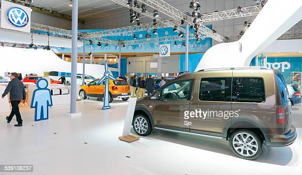 Volkswagen Caddy at the VW stand