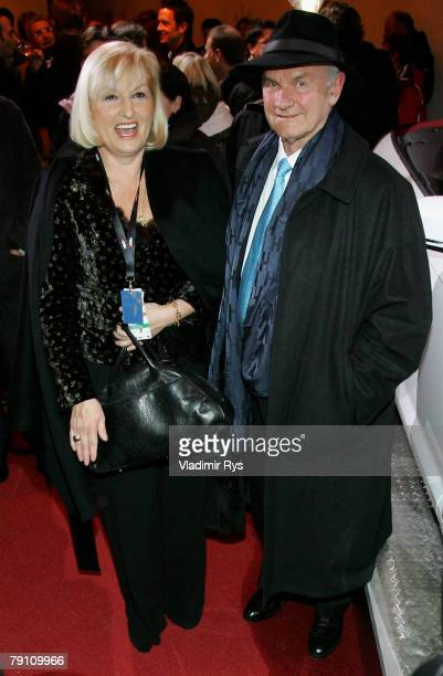 Volkswagen chairman of the supervisory board Ferdinand Piech and his wife Ursula arrive at the Audi Night 2008 at the hotel Zur Tenne after the...