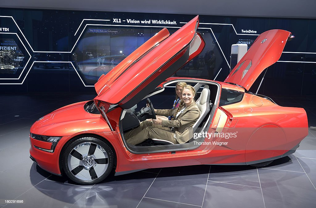 Volkswagen concept car is during the press day at the international motor show IAA (Internationale Automobil-Ausstellung) on September 11, 2013 in Frankfurt am Main, Germany. The world's biggest motor show, the IAA, is running from September 12 to 22, 2013