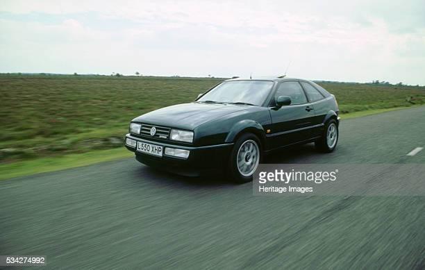 Volkswagen Corrado VR6 driving at speed 2000