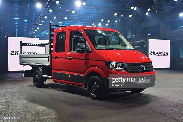 Volkswagen Crafter on the premiere