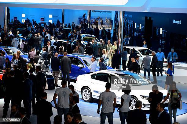 Volkswagen exposition on the motor show