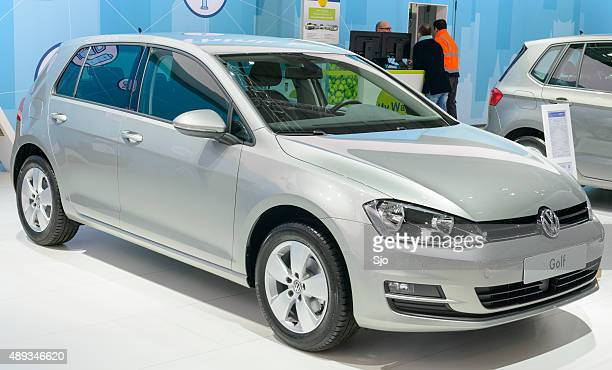 Volkswagen Golf at the VW stand