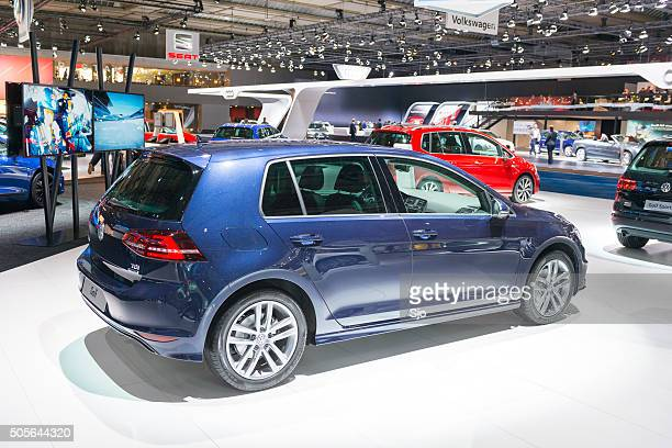 Volkswagen Golf Diesel at the VW stand