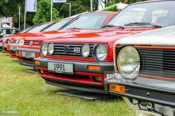 "volkswagen golf gti hatchback sports car - ""sjoerd van der wal"" stock pictures, royalty-free photos & images"