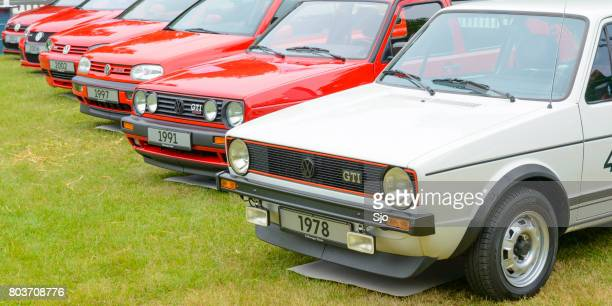 Volkswagen Golf GTI hatchback sports car