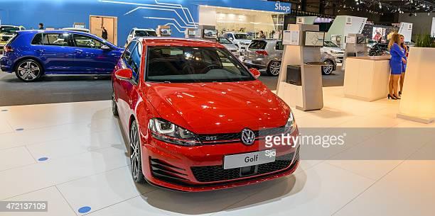 volkswagen golf gti - volkswagen golf gti stock photos and pictures