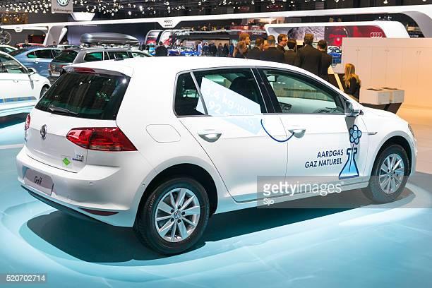Volkswagen Golf TGI natural gas vehicle