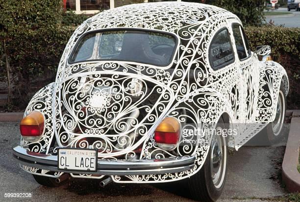 Volkswagen Made of Wrought Iron Metalwork