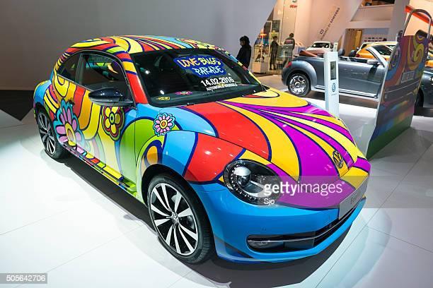 Volkswagen Käfer Liebe neue Bug Parade art Auto