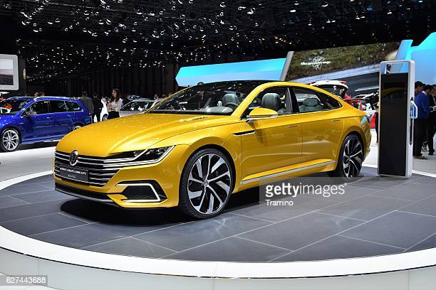 Volkswagen Sport Coupe GTE on the motor show