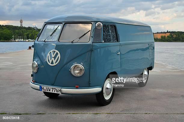 Volkswagen T1 at the sea shore