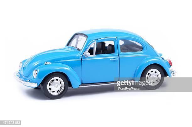 volkswagen toy beetle - volkswagen beetle stock photos and pictures