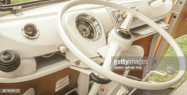 Volkswagen Transporter T1 Camper Van dashboard interior