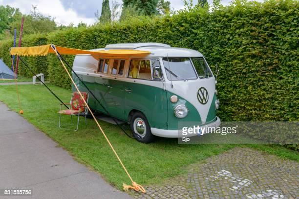 Volkswagen Type 2 (T1) Transporter Kombi of Microbus camper