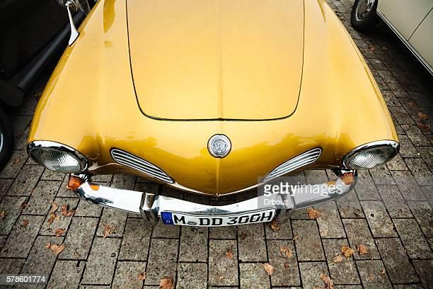 Volkswagen vintage car at oldtimer show