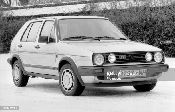 Volkswagen's Golf Mk2 in sporty GTI spec