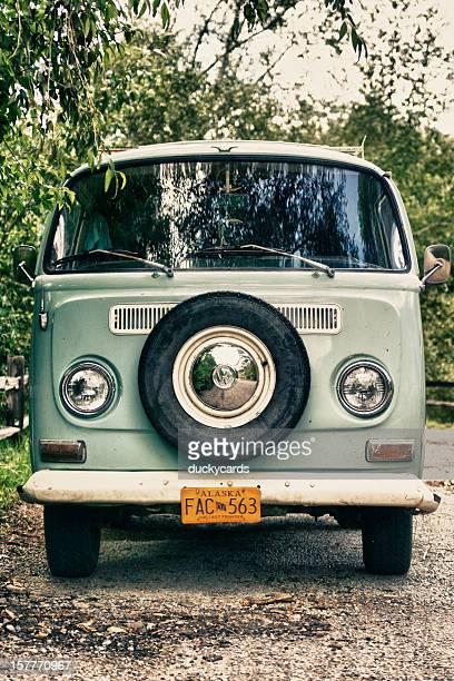 Volkswagon Bus, vue sur