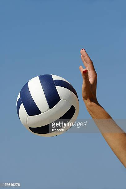 Volleyball-Aktion