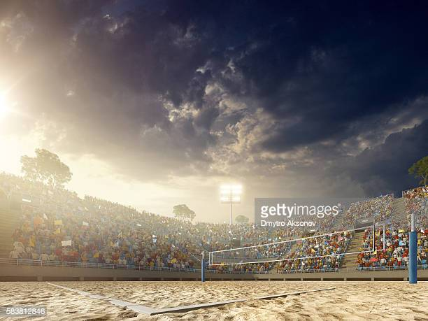 Volleyball: Beach stadium