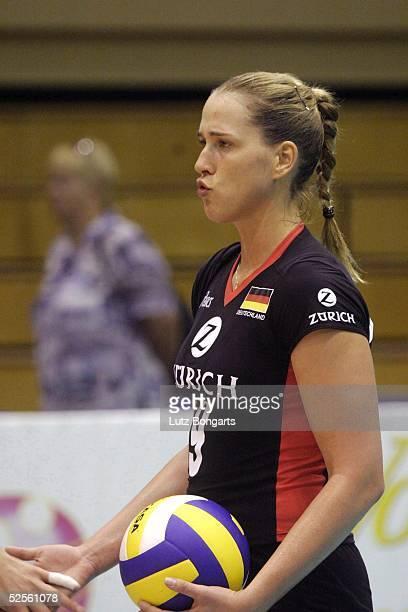 Volleyball / Frauen Zuerich Open 2004 Rostock Deutschland Thailand Christina Benecke von TV Fischbek Hamburg 220704