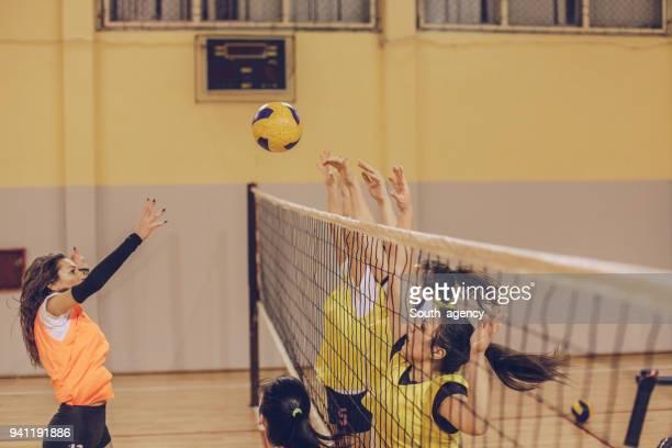 Juego de voleibol