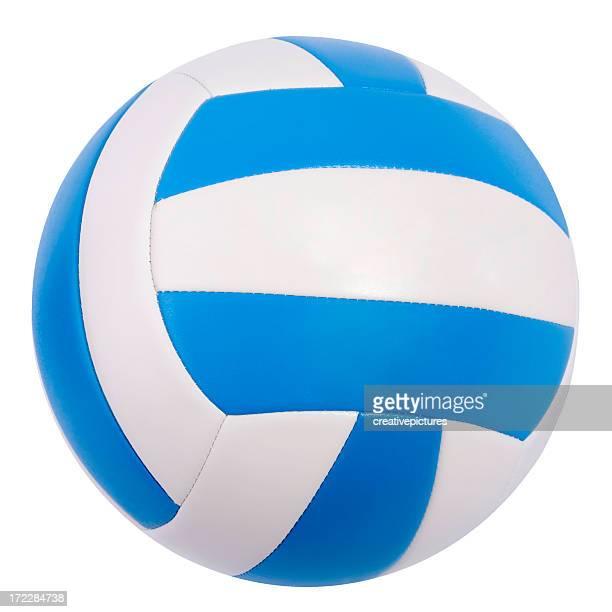 pallavolo isolato - palla sportiva foto e immagini stock
