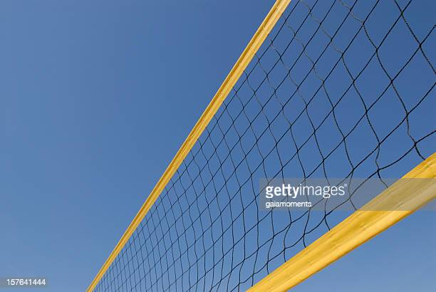 volleyball net - netting stock pictures, royalty-free photos & images