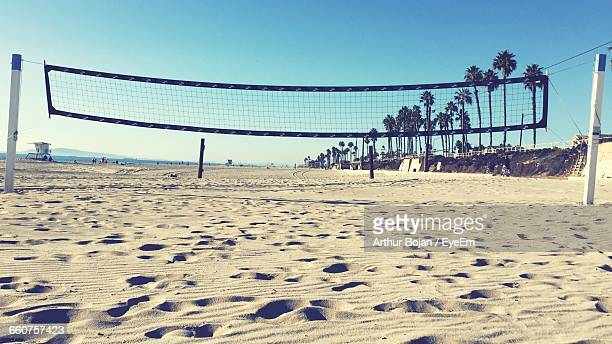 Volleyball Ney On Beach