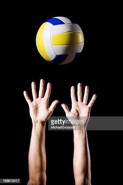 バレーボール - デイフェンス ストックフォトと画像