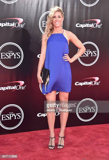 Volleyball player April Ross attends the 2016 ESPYS at Microsoft Theater on July 13 2016 in Los Angeles California