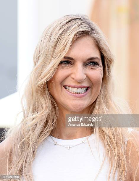 Volleyball player Gabby Reece joins Land Rover for the North American debut of the all new Discovery SUV on November 11 2016 in Venice California