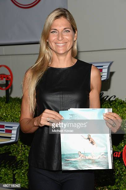Volleyball player Gabrielle Reece attends BODY at ESPYs at Milk Studios on July 14 2015 in Hollywood California