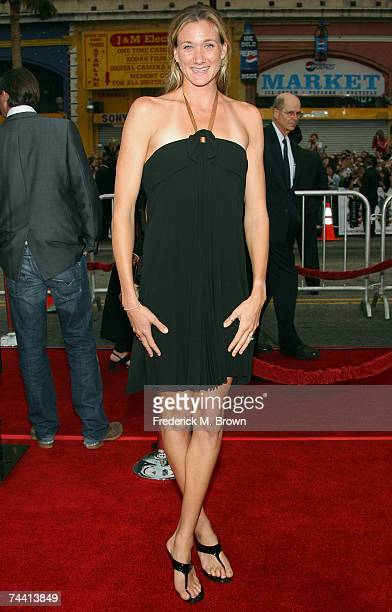 Volleyball player Kerri Walsh arrives to the Warner Bros premiere of the film Ocean's 13 at Grauman's Chinese Theatre on June 5 2007 in Hollywood...