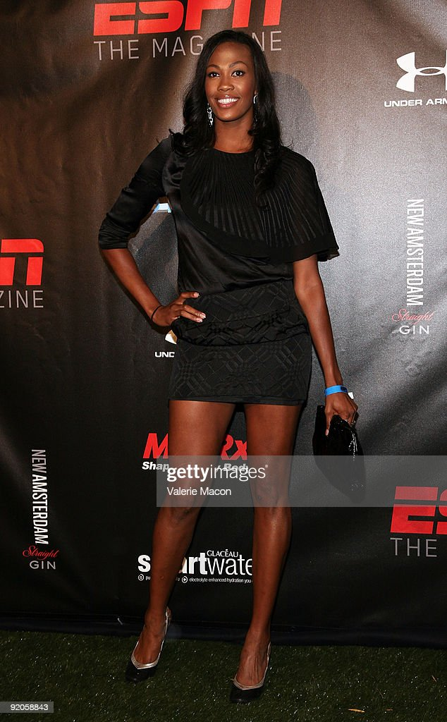 Kim Glass attends ESPN THE MAGAZINES BODY ISSUE EVENT