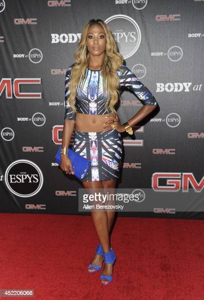 Volleyball player Kim Glass attends the ESPN Body Issue