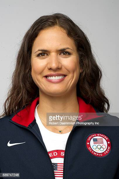 Volleyball player Logan Tom poses at the Team USA Media Summit in Dallas Texas in advance of the 2012 London Olympics